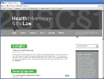 Health Information and the Law