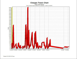Charges Trend - Chart Report