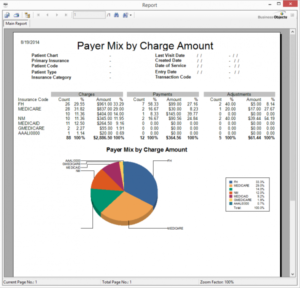 Payer Mix by Charge Amount 2