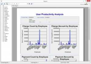 User Productivity Report