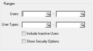 User Security Filters