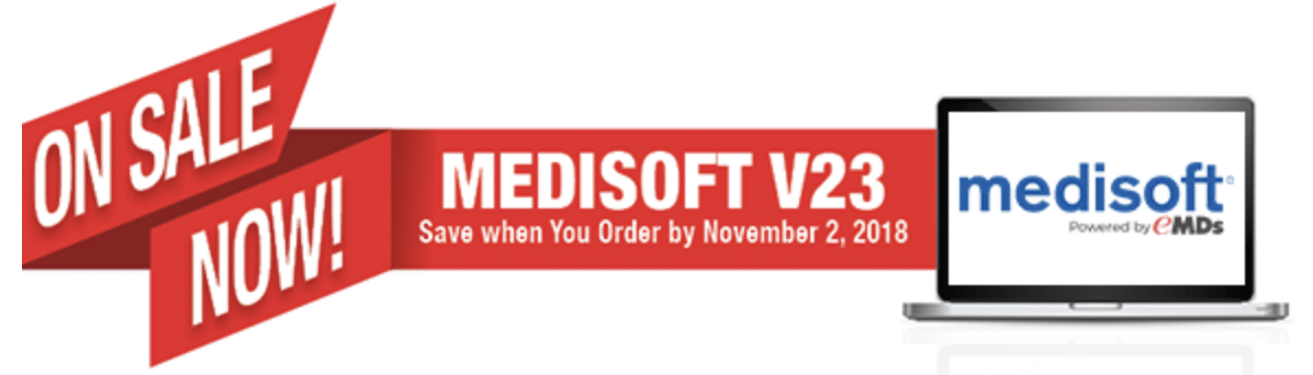 medisoft version 23 sale