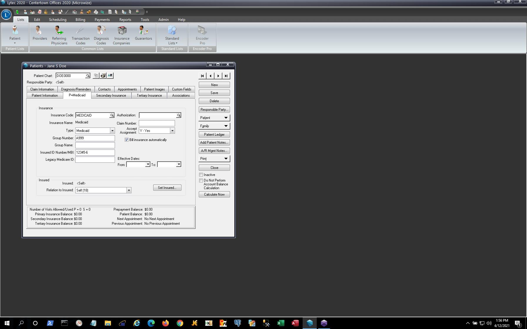 Lytec Patient Demo- Screenshot 2