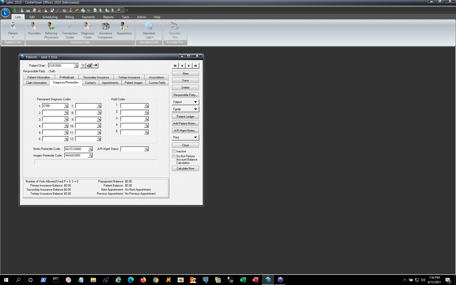 Lytec Patient Demo - Screenshot 3