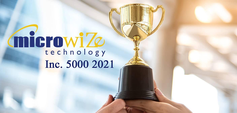 Microwize award - Inc 5000 2021