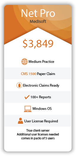 Medisoft Pricing List